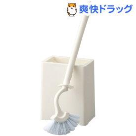 サット(Satto) スリムトイレブラシ ケース付(1セット)【サット(Satto)】