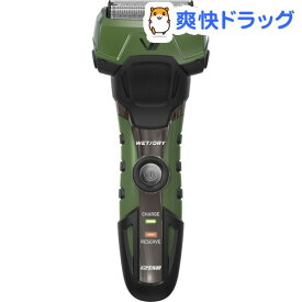 イズミ 4枚刃往復式シェーバー IZF-V758-G-EA(1台)【IZUMI(イズミ)】