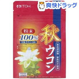 秋ウコン粉末100%(200g)【井藤漢方】