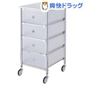ペット用品収納ワゴン 4段タイプ(1コ入)