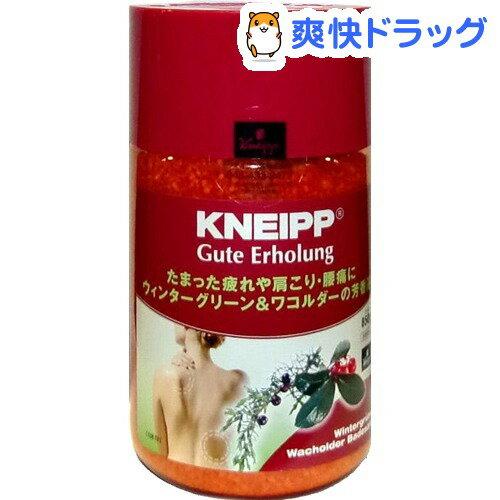 クナイプ グーテエアホールング バスソルト ウインターグリーン&ワコルダー(850g)【クナイプ(KNEIPP)】