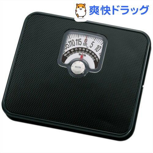 タニタ ヘルスメーター(体重計) チェッカー付 HA-552-BK ブラック(1台)【タニタ(TANITA)】