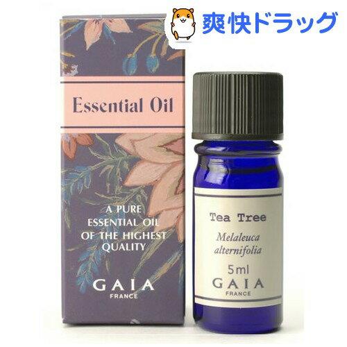 ガイア エッセンシャルオイル ティートリー(5mL)【ガイア(GAIA)】