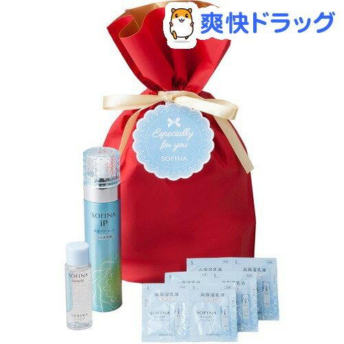 【企画品】ソフィーナiP 美活パワームース 化粧水・乳液サンプル付 ギフトセット(1セット)【ソフィーナ(SOFINA)】【送料無料】