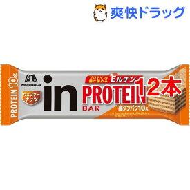 森永製菓 inバー プロテイン ナッツ(12本セット)【ウイダーinバー】
