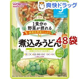 和光堂 1食分の野菜が摂れるグーグーキッチン 煮込みうどん 9か月頃〜(100g*48袋セット)【グーグーキッチン】