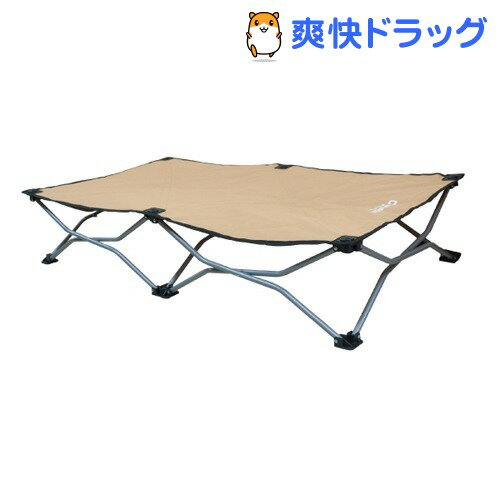 カールソン ポータブルポップアップベッドL 耐荷重43kg(1コ入)【送料無料】