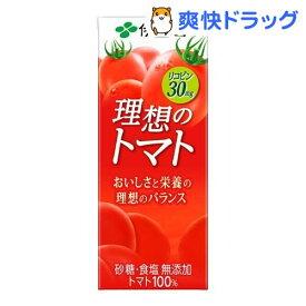 伊藤園 理想のトマト 紙パック(200ml*24本入)