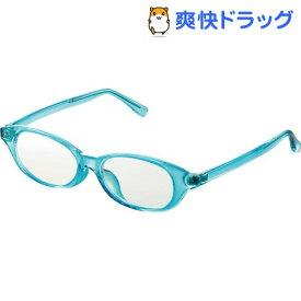 キッズ用ブルーライト対策メガネ 50%カット Mサイズ ブルー G-BUC-W03MBU(1個)【エレコム(ELECOM)】