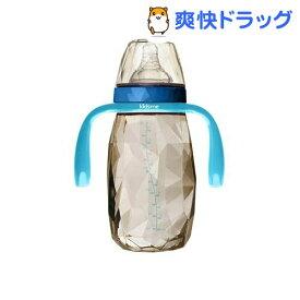 キッズミー ダイヤモンドボトル ハンドル付 アクアマリン 300ml(1個)