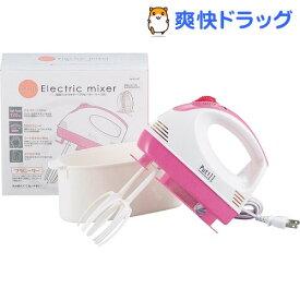 プティル 電動ハンドミキサー プラビーター・ケース付 D-1107(1台)【パール金属】