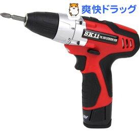 SK11 10.8V 充電ドリルドライバー SDD-108V-15RLS(1台)【SK11】