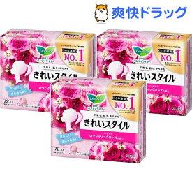 ロリエ きれいスタイル ロマンティックローズの香り(72個入*3袋セット)【ロリエ】