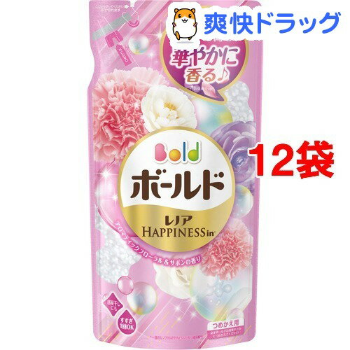 ボールド アロマティックフローラル&サボンの香り 詰替え用(715g*12コセット)【ボールド】[ボールド 詰め替え]【送料無料】