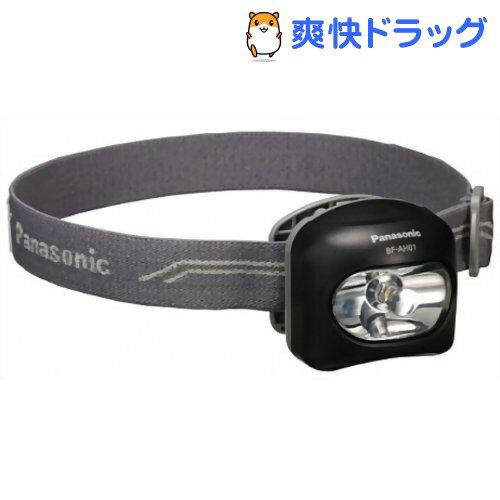 パナソニック LEDヘッドランプ 直径7.5mmスタンダード白色LED採用 BF-AH01-K(黒)(1コ入)【パナソニック】