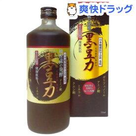 焼酎蔵の発酵 黒豆力 プレミアム発酵 黒大豆搾り(720mL)【堤酒造】