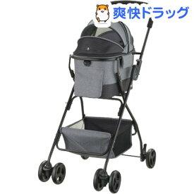 リッチェル ペットカート ミニモ グレー(1台)【リッチェル(ペット)】