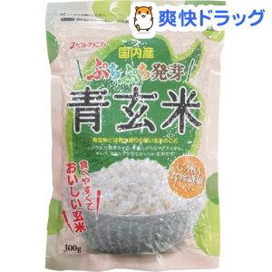 国内産 ぷちぷち発芽 青玄米(300g)【ベストアメニティ】