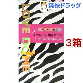 コンドーム/ラブドーム ゼブラ(12個入*3箱セット)