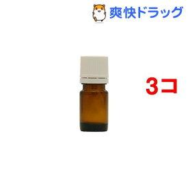 フレーバーライフ 遮光瓶 茶 ドロッパー付 5ml(1コ入*3コセット)