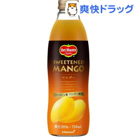 デルモンテ マンゴー20%(750ml*6本入)【デルモンテ】