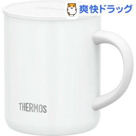 サーモス 真空断熱マグカップ 0.35L ホワイト JDG-350C WH(1個)【サーモス(THERMOS)】