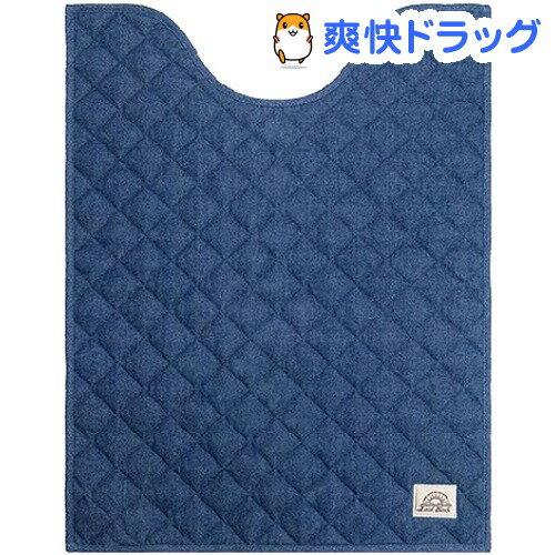 トイレマット レイドバック ロング ライトブルー 80*60cm(1枚入)【レイドバック(Laid Back)】