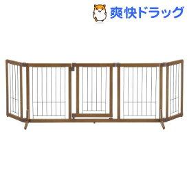リッチェル ペット用木製おくだけドア付きゲート Lサイズ(1台)