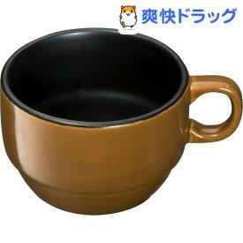 イシガキ産業 chocotto 電子レンジ オーブン対応 耐熱マグカップ ブラウン(1コ入)