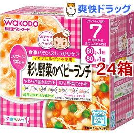 栄養マルシェ 彩り野菜のベビーランチ(24箱セット)【栄養マルシェ】