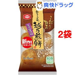 越乃煎餅 旨み醤油味(30枚入*2袋セット)【亀田製菓】