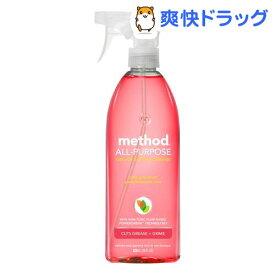 メソッド オールパーパスクリーナー ピンクグレープフルーツ(828ml)【メソッド(method)】
