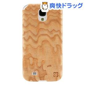 マン&ウッド GALAXY S4 ウッドケース ジュピター ホワイト I2191S4(1コ入)【マン&ウッド(Man&Wood)】