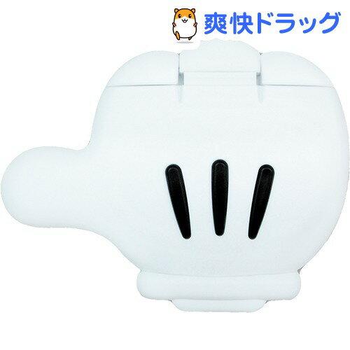 ミッキーマウス 携帯用ウェットティッシュふた ホワイト*ブラック(1コ入)