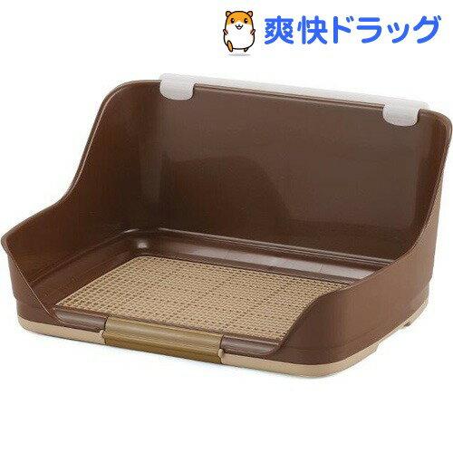 ボンビアルコン しつけるウォールトレー ブラウン Sサイズ(1コ入)【しつけるトレー】