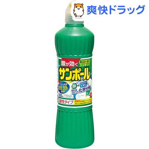サンポール トイレ洗剤 尿石除去 塩酸9.5%(500mL)【サンポール】