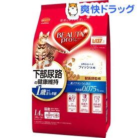 ビューティープロ キャット 猫下部尿路の健康維持 1歳から(1.4kg)【d_beauty】【ビューティープロ】[キャットフード]