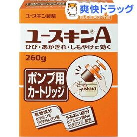 ユースキンA ポンプ 付替えカートリッジ(260g)【ユースキン】