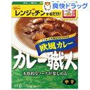 カレー職人 欧風カレー 中辛(170g)【カレー職人】