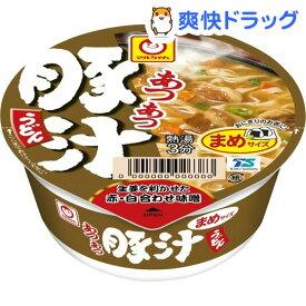 マルちゃん あつあつまめ豚汁うどん ケース(49g*12個入)【マルちゃん】