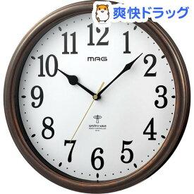 ノア精密 MAG電波掛時計 ネメシス W-741 BR-Z(1個)【ノア精密】