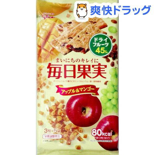 毎日果実 アップル&マンゴー(3枚*5袋入)【毎日果実】