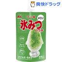 井村屋 氷みつパウチ メロン(150g)[かき氷 シロップ]