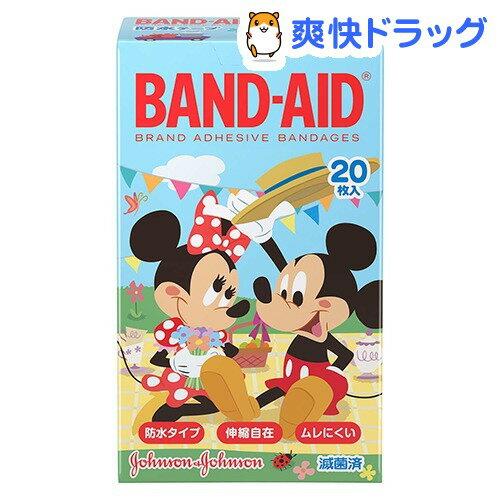 バンドエイド ディズニーのなかまたち(20枚入)【バンドエイド(BAND-AID)】