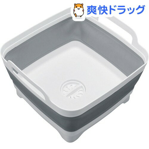 排水できるモノトーン洗い桶(1コ入)