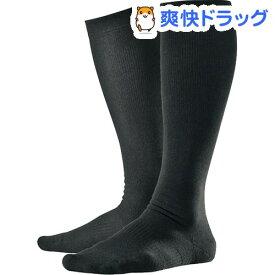 アルケア アンシルク・2 ソックス 弾性ストッキング ブラック L 20112(1足)【アルケア】