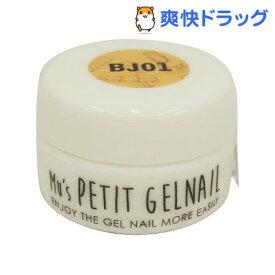 エミューズ プチジェルネイル 01 BJ01 ナチュラルベージュ(2g)【エミューズ】