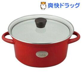 コレッティ ホーロー両手鍋 20cm CR-7759(1コ入)