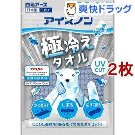 アイスノン 極冷えタオル(2枚セット)【アイスノン】