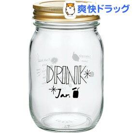 キッチンジャー ドリンク柄 日本製 約485ml HW-522-J302(1個入)